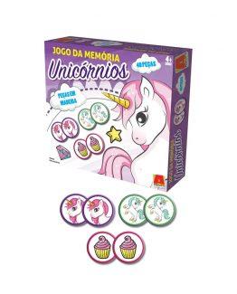 jogo da memoria unicornios