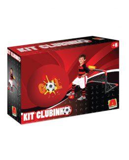 kit clubinho preto e vermelho